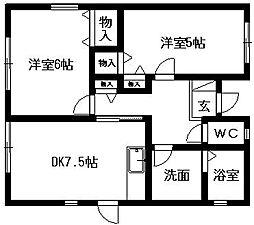 [一戸建] 静岡県浜松市北区三方原町 の賃貸【/】の間取り