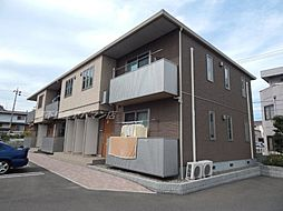 広島県福山市大門町5丁目の賃貸アパートの外観