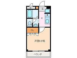 メゾン エスポアール[1階]の間取り