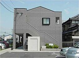 愛知県あま市七宝町川部出屋敷の賃貸アパートの外観
