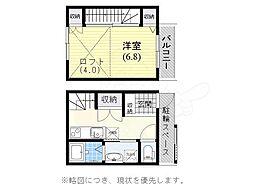 山陽電鉄本線 山陽須磨駅 徒歩6分の賃貸アパート 1階1Kの間取り