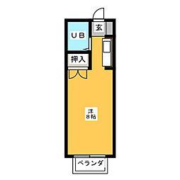 エステートピア浅井II[2階]の間取り