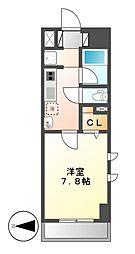 ベレーサ名駅ウエスト[5階]の間取り