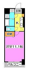 ラフィネ所沢[7階]の間取り