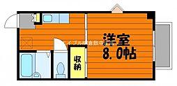 岡山県倉敷市笹沖の賃貸マンションの間取り