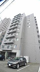 北海道札幌市中央区北五条西20丁目の賃貸マンションの外観