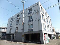 北海道札幌市東区北19条東12丁目の賃貸マンションの外観