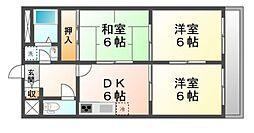 エクセルコート・I[3階]の間取り