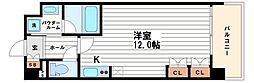 KDXレジデンス本町橋[10階]の間取り