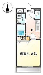 スプレンドーレ・青江[2階]の間取り