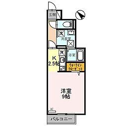D−room片口[1階]の間取り