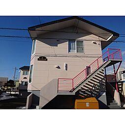 北海道苫小牧市新富町1丁目の賃貸アパートの外観