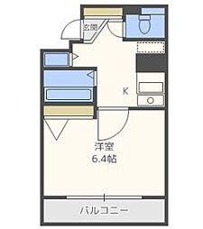 プレサンス梅田フロンティア[10階]の間取り