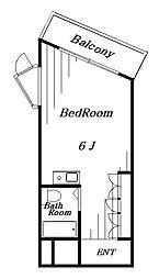 幕張マンション[2階]の間取り