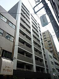 レジディア築地[504号室]の外観
