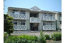 新潟県新潟市中央区有明台の賃貸アパートの外観