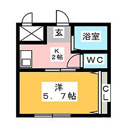 プリミエール KATO[2階]の間取り