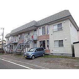 北海道苫小牧市澄川町5丁目の賃貸アパートの外観