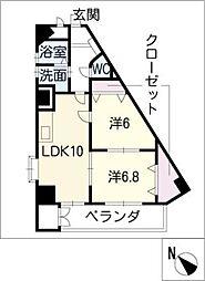 Medio18[6階]の間取り