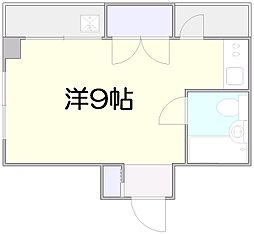 石田マンション[202号室]の間取り