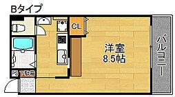 ツインステージII[3階]の間取り