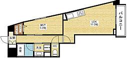 ラディアント[2階]の間取り