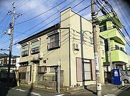東京都日野市栄町4丁目の賃貸アパートの外観