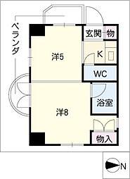第三貞和ビル[7階]の間取り