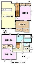 [一戸建] 埼玉県川口市桜町6丁目 の賃貸【/】の間取り