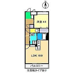 Rion[1階]の間取り