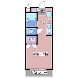 グランドオーク壱番館[2階]の間取り
