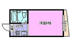 サンライフ本村 202[202号室]の間取り