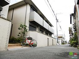 大阪府大阪市東住吉区照ケ丘矢田3丁目の賃貸アパートの外観