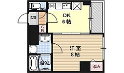 AFICION堀川[702号室号室]の間取り