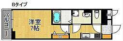 La porte[3階]の間取り