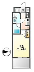 プライムアーバン泉[15階]の間取り