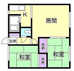 メゾン青葉[2階]の間取り