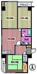 新田第9ビル[401号室]の間取り