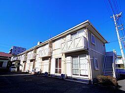 埼玉県所沢市美原町3丁目の賃貸アパートの外観