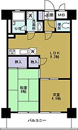 第10柴田ビル[6階]の間取り