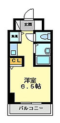 YKハイツ松の内[3階]の間取り