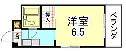 ぱんぷきんハウス[202号室]の間取り