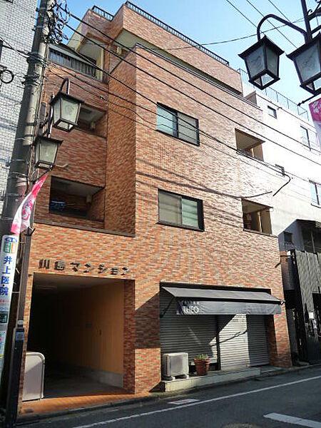 川島マンション[302号室]の外観