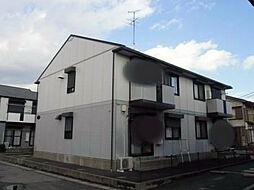 千葉県野田市尾崎の賃貸アパートの外観