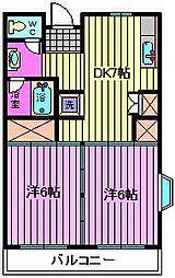 メゾン南平台[3階]の間取り
