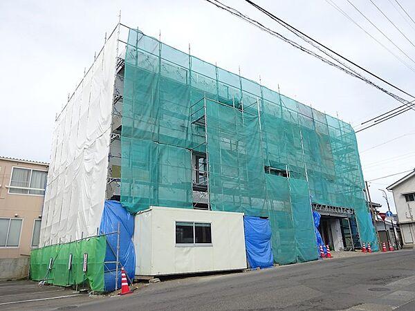 長野県上田市常田2丁目の賃貸マンションの外観