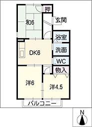 ARIES 10[1階]の間取り