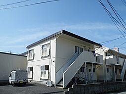 広島県東広島市西条大坪町の賃貸アパートの外観