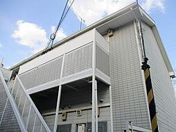 大阪府寝屋川市平池町の賃貸アパートの外観