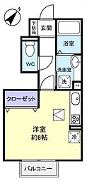 エトワール八千代中央[1階]の間取り
